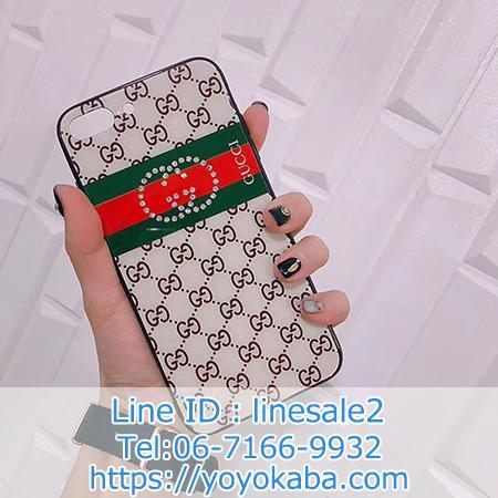 Gucci iphoneX カバー 背面ガラス