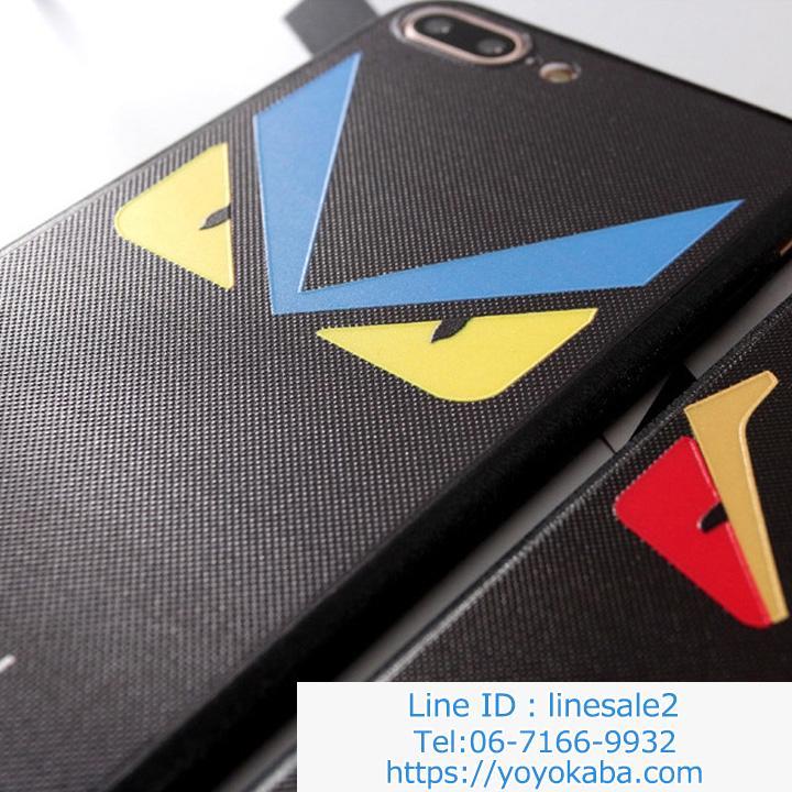 アイフォンX/テン スマホケース フェンディ ネックストラップ